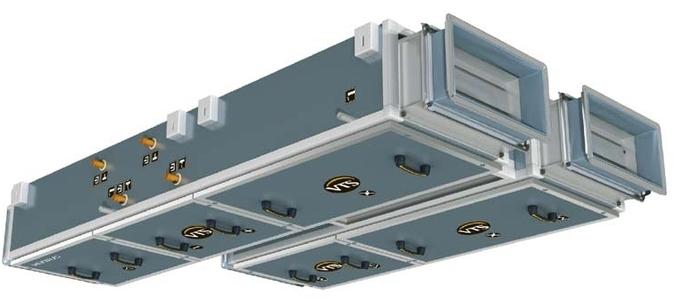 Подвесная приточно-вытяжная установка Ventus VS 10-15